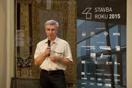 STAVBA ROKU 2015, fotografie z tiskové konference