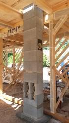 Ucelený stavební systém Schiedel sizostatickou tenkostěnnou vložkou.