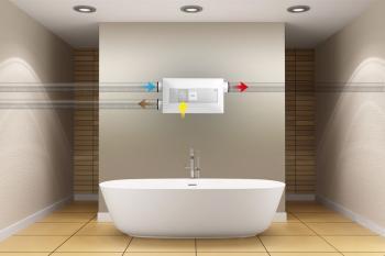 Semicentrální větrací jednotka inVENTer® PAX pro více místností