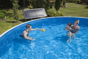 Solární ohřev bazénové vody