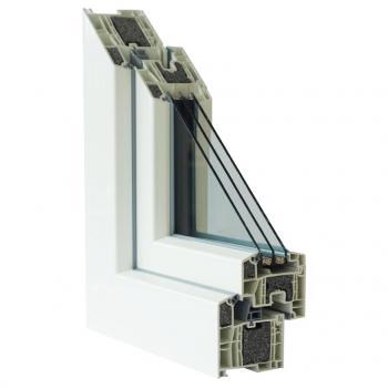 Plastový okenní profil SULKO PROFI PLUS