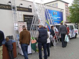 Fotografie z loňského ročníku veletrhů MODERNÍ DŮM A BYT & ŽENA A DOMOV v Plzni