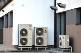 Venkovní jednotky tepelného čerpadla vzduch-voda