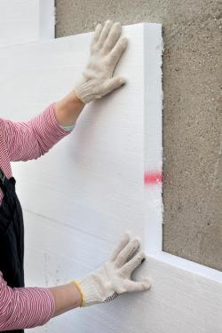 Zateplování fasády pěnovým polystyrenem
