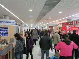 Fotografie z loňského ročníku veletrhu STAVOTECH – Moderní dům Olomouc