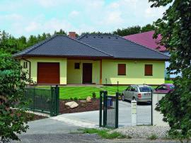 Vzorový dům Top Line 140 a obchodní zastoupení společnosti HAAS FERTIGBAU, spol. s r.o. v Dolanech, Dolany 83, 273 51 Unhošť
