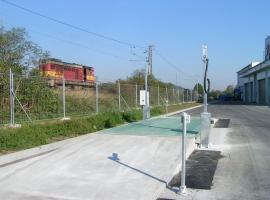Mostní váha se samoobslužným terminálem NOAX