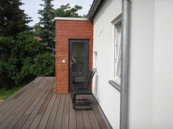 Typový dům JANA 1 - vstup do domu