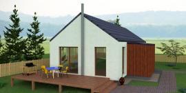Typový dům JANA 1, pohled 1