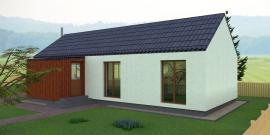 Typový dům JANA 1, pohled 2