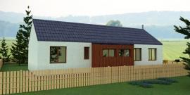 Typový dům JANA 1, pohled 3