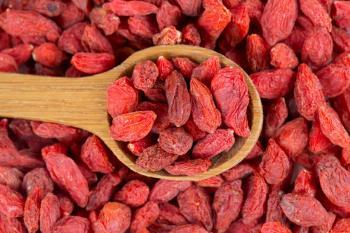 Sušené plody kustovnice čínské