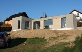 Dřevostavba 88 m2 ze dvou modulů do tvaru T – Jablonec nad Nisou