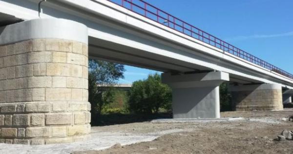 Most vBerouně - celkový pohled porekonstrukci