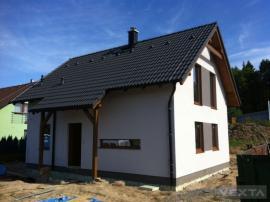 Realizovaná dřevostavba VEXTA 116 DOLNÍ LOMNICE U KUNIC