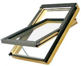 Kyvné střešní okno s elektrickým ovládáním Z-Wave
