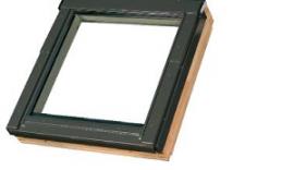 Střešní okno pro sestavy