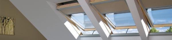 Kyvná střešní okna s elektrickým ovládáním Z-Wave