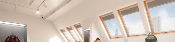Kyvná střešní okna se zvýšenou odolností proti vloupání Secure