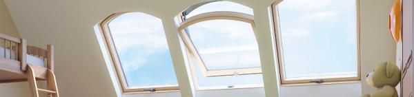 Oblouková střešní okna