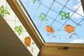 Atypické vitrážové zasklení