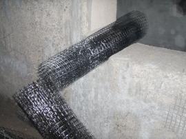 Bazaltová síťka pro mechanické kotvení