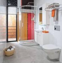 Jika Tigo - asymetrický sprchový kout