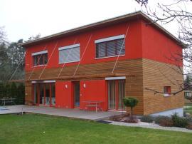 Pasivni dům řešený jako dřevostavba, Plzeň