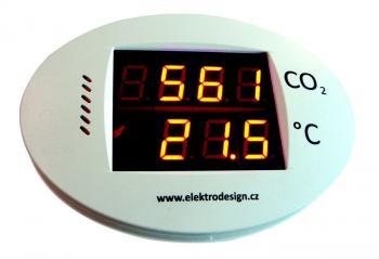 ED-ISCO2, zařízení určené pro indikaci koncentrace CO2 a teploty vobytném prostoru