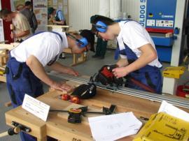 Fotografie ze soutěže Skills Slovakia