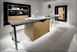 Luxusní kuchyně AV 4030 GL, černá