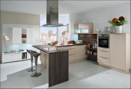Moderní kuchyně Hit, kašmírová, mat