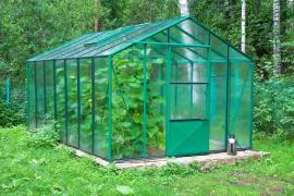 Prosklený skleník