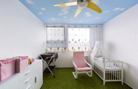 Dětský pokoj po rekonstrukci
