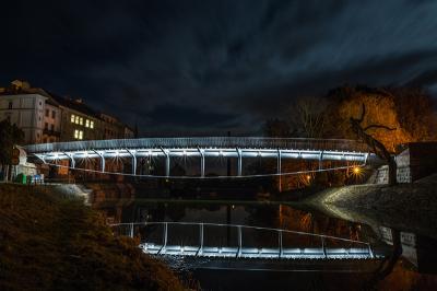 Titul v soutěži Stavba roku 2015, Komenského most v Jaroměři
