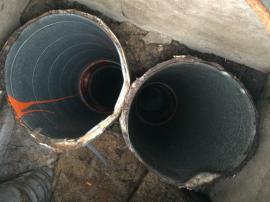 Vyčištěné potrubí vzduchotechniky
