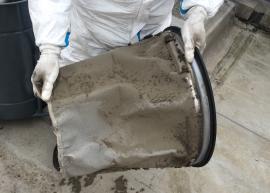 Množství prachu a nečistot zjednoho stoupacího potrubí