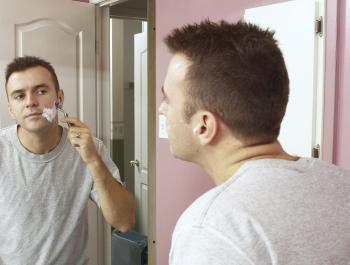 Topné zrcadlo