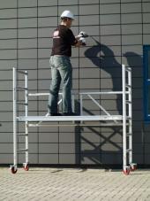 Hliníkové pojízdné skládací lešení K2 4400