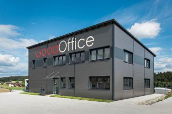 Modulární stavby poslouží také jako skvělé místo pro prostorné a prosvětlené kanceláře.