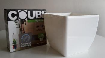 Samozavlažovací květináč COUBI QUADRA 30 cm