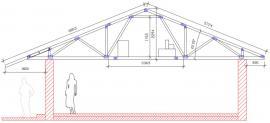 Úložný prostor – sedlová střecha x valbová střecha