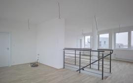 Interiér polyfunkčního domu v Křídlovické ulici