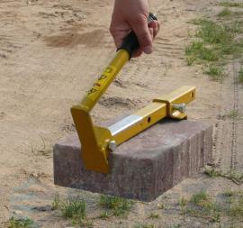 Jednoruční nosič dlažby