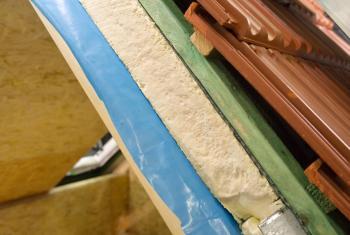 Zateplení podkroví domu