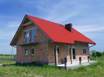 Výstavba zděného rodinného domu