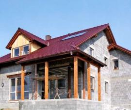 Výstavba domu ze stavebních materiálů Liapor
