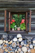Okno roubenky