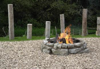 Obdoba klasického venkovního ohniště