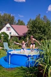 Větší bazén pro děti